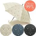 しろくま日傘★UV遮蔽率99%以上!【晴雨兼用日傘 紫外線対策】【在庫一掃セール商品】