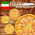 【人気商品】本物そっくり ピザスクイーズ 食品サンプル 景品 ジャンクフード アメリカンフード
