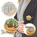【関西/大阪土産】大阪名物 たこ焼きブローチ/リアル/食品サンプル/景品/おもしろ