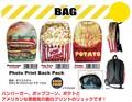 原宿系 おしゃれリュック Photo Print Back Pack