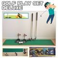 【スポーツ ゴルフ】GOLF PLAY SET DELUXE 運動 練習 アイアン パーター