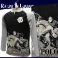 ◆お買い得秋冬商材◆★最終処分★POLO RALPH LAUREN BOYS ボーイズ ロンT<男性対応><ラスト1点>