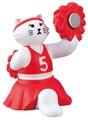 チア猫クリップホルダー【ねこ】【ネコ】【猫】【cat】【キャット】