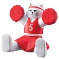 チア猫スマホスタンド【ねこ】【ネコ】【猫】【cat】【キャット】