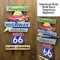 アメリカンスタイルウォールデコ[America's Highway]