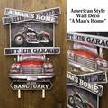 アメリカンスタイルウォールデコ[A Man's Home]