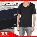 ◆お買い得春夏商材◆★SALE★DIESEL ディーゼル 無地 シンプル Uネック Tシャツ<ラスト2点>