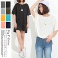 [特別価格30%OFF]◆2016春夏新作◆BIG Tシャツチュニック/ビッグT/A/SS