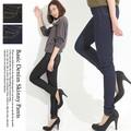 ◆2017SS◆デニムスキニーパンツ/デニレギ/A/SS 大きいサイズ 美脚効果