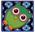 限定品!【新柄】 フェイラータオルハンカチ Owls Blue