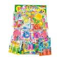 【お祭り縁日商材 安価玩具】カラフルシャボン玉当て(80付) 子ども会 お祭り 夏祭り
