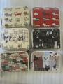 猫の総柄シリーズ 小銭のお財布 カードホルダー 新柄追加
