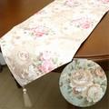 テーブルランナー<テーブルセンター ローズ 薔薇 アンティーク>