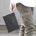 クラッチバッグ セカンドバッグ スカル 鞄 黒 ブラック 2016 春
