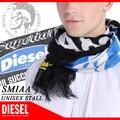 ★DIESEL小物特集★大特価★オススメギフト商材★DIESEL ディーゼル ユニセックス ストール スカーフ
