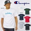 """【DEEDOPE】 """"HOLIDAY"""" USA チャンピオン ボディー使用 CHAMPION メンズ Tシャツ SS TEE"""