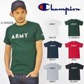"""【DEEDOPE】 """"ARMY"""" USA チャンピオン ボディー使用 CHAMPION メンズ Tシャツ SS TEE"""