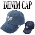NEWYORK刺繍ベースボールキャップ  14580