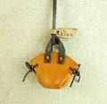ミニチュアレザーバッグネックレス 牛革  Japan〈日本製〉