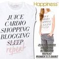 ★大特価★Happiness ハピネス レディース Tシャツ<JUICE CARDIO><ラスト4点>