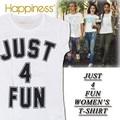 ◆お買い得春夏商材◆★大特価★Happiness ハピネス Tシャツ<JUST 4 FUN><ラスト2点>
