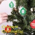 【2016秋冬新作】【即納可能】オーナメント クリスマスタグ SET10【2016クリスマス】