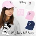 【2016新作】ミッキーマウス キャップ ローキャップ ディズニー シックスパネル 6p  帽子 hat