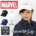 【2016新作】MARVEL マーベル キャップ ローキャップ シックスパネル 6p メンズ レディース 帽子