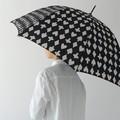【2柄2色展開】《大胆なモノトーンシリーズ》 大胆なモノトーン 長傘