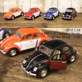 ダイキャストミニカー[1967 VW Classical Beetle (Color door)1/32(M)]【ロット12台】