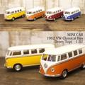 ダイキャストミニカー[1962 VW Classical Bus (Ivory Top)1/32(M)]【ロット12台】