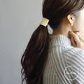 【秋冬新作】[ヘアアクセサリー]ヘアーゴム BRASS パラベル