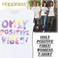 ◆お買い得春夏商材◆★大特価★Happiness ハピネス Tシャツ<ONLY POSITIVE VIBES!><ラスト1点>