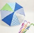子供傘●Mikuni Kid's Umbrella●グラスファイバー&クリアビニール窓付き●45cmスライド式傘