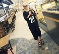 大きいサイズ☆72ロングTシャツワンピースLL~4L