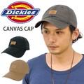 ディッキーズ Dickies Canvas Leather ロゴCap Logo Cap 帽子 DICKIES ベースボールキャップ