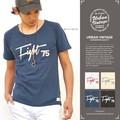 """【2016春夏新作】 URBAN VINTAGE アーバンヴィンテージ """"FIGHT 75"""" 半袖 スラブ Tシャツ"""