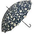 【レイングッズ】16本骨 アンブレラ 4種 レディース 婦人 雨具 梅雨 花柄 傘