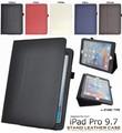 <タブレット用品>スタンド付き!iPad Pro 9.7インチ用レザーデザインケース