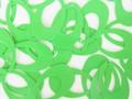 特別価格品【フランス製】 ヴィンテージスパンコール 26mm×15mm オーバルドロップ グリーン