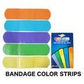 【アメリカ雑貨 アメ雑】BANDAGE カラーストライプ バンドエイト 絆創膏 シンプル カラフル
