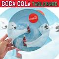 コカコーラ メラミンプレート ベア * かわいいシロクマ柄!プラスチック製のお皿です♪