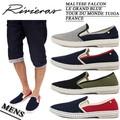 ※2016春夏商品SALE!Rivieras リビエラ メンズ  パイピング メッシュスリッポン<4カラー>