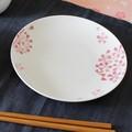 桜づくし 丸皿