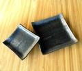 ■常滑焼【made in japan/食器】佳窯黒釉 皿