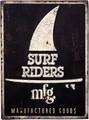 アンティークエンボスプレート[Surf Riders]