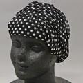 シルクパワーネットリボン帽子 (シルク100%)