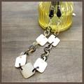 【均一SALE】コンビカラーのリングネックレス【日本製】