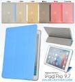 <タブレット用品>動画視聴にも便利!iPad Pro 9.7インチ用和紙風デザインレザースタンドケース