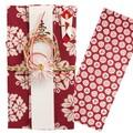 手ぬぐい祝儀袋 花キューブ 注染【和布華】【正月】【お年賀】